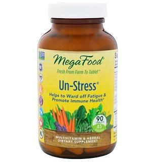 MegaFood, Un-Stress, 90 Tablets