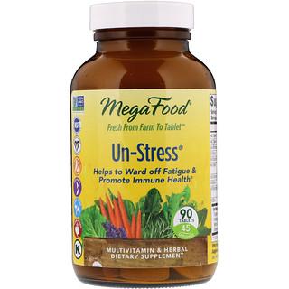 MegaFood, Пищевая добавка «Снятие стресса», 90 таблеток