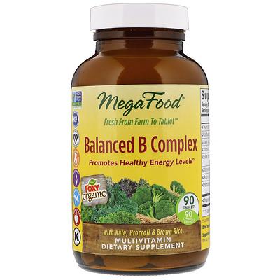Купить Ежедневное питание, Сбалансированный комплекс витаминов группы В, 90 таблеток