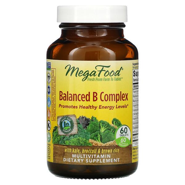 Сбалансированный комплекс витаминов группы В, 60 таблеток