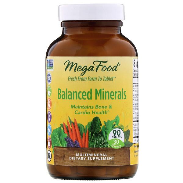 Minerais Balanceados, 90 Comprimidos