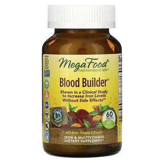 MegaFood, Blood Builder, 60 Tablets
