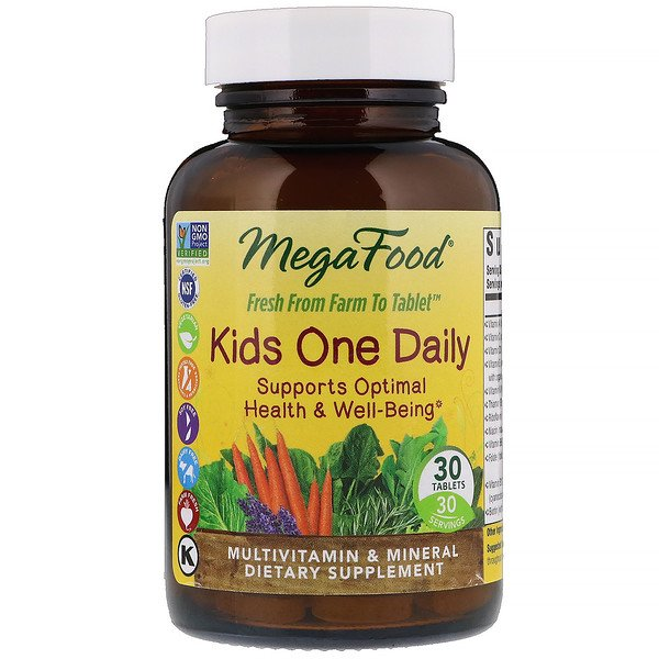 Kids One Daily, 30 Tablets