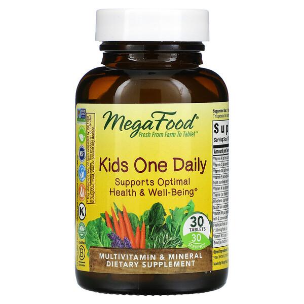 Suplemento para niños, Un comprimido diario, 30comprimidos