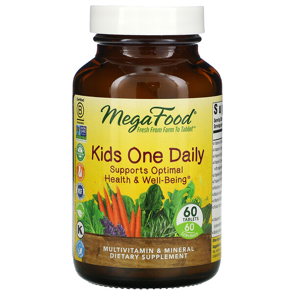 Kids One Daily, 60 Tablets