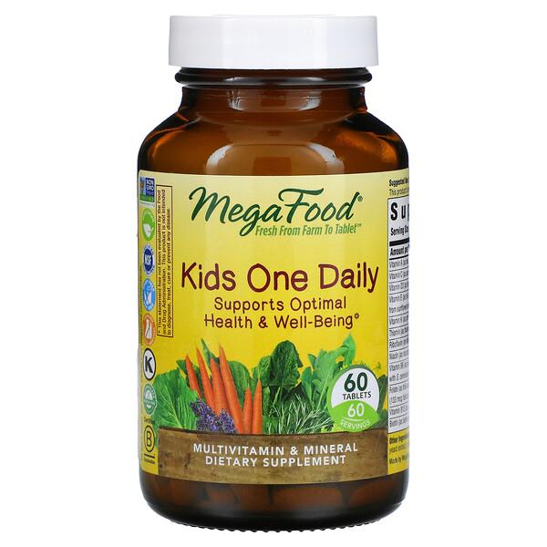 Suplemento para niños, Un comprimido diario, 60comprimidos