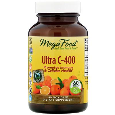 Купить MegaFood Ultra C-400, 60 таблеток