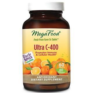 MegaFood, Ultra C-400, 60 Tablets