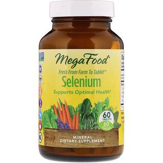 MegaFood, Selenium, 60 Tablets