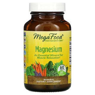 MegaFood, Magnesium, 60Tabletten