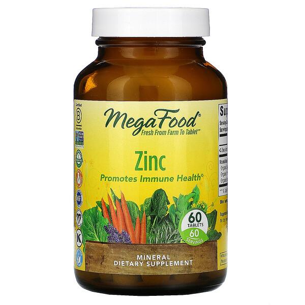 Zinc, 60 Tablets