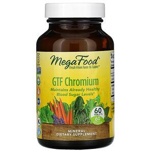 Мегафудс, GTF Chromium, 60 Tablets отзывы