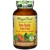 MegaFood, One Daily, Iron Free, 90 Tablets