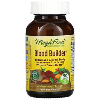 MegaFood, Blood Builder, 90정