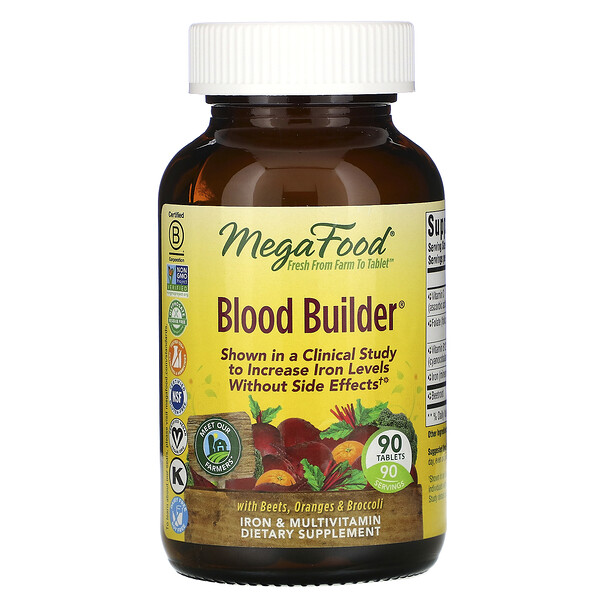 Blood Builder, 90 Tablets
