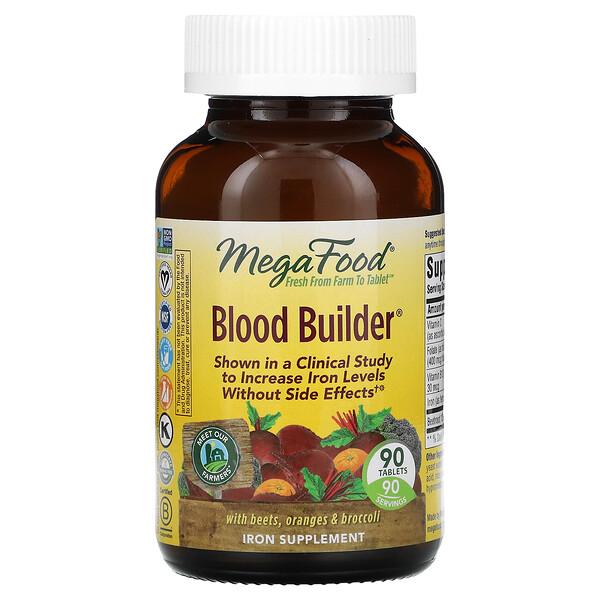Blood Builder, 90 Tablets