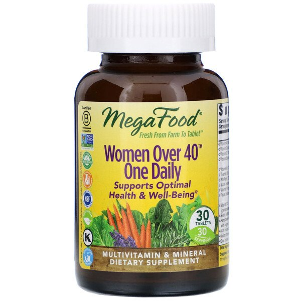 Women Over 40 One Daily, 30 Tablets