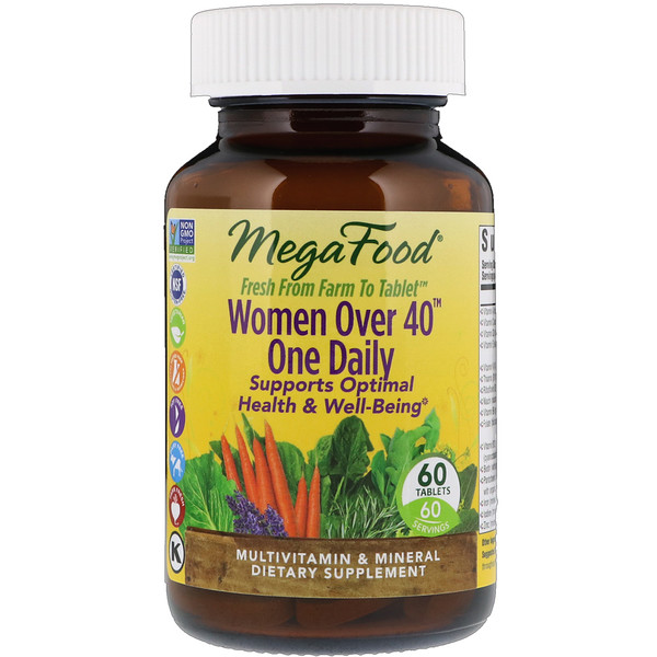 Women Over 40 One Daily, 60 Tablets