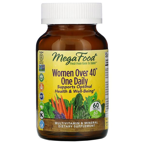 أقراص لمرة واحدة يوميًا للنساء فوق 40 عامًا، ، 60 قرصًا