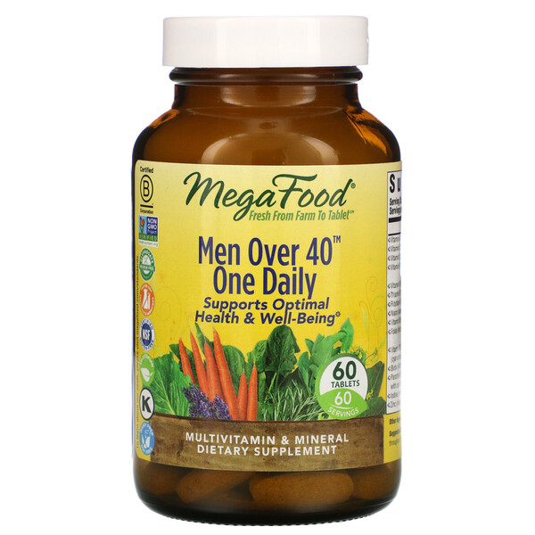 Men Over 40 One Daily, 60 Tablets
