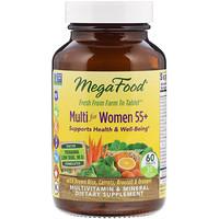 Мультивитамины для женщин 55+, 60 таблеток - фото