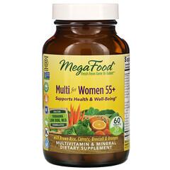 MegaFood, 女性 55+ 複合維生素,60 片
