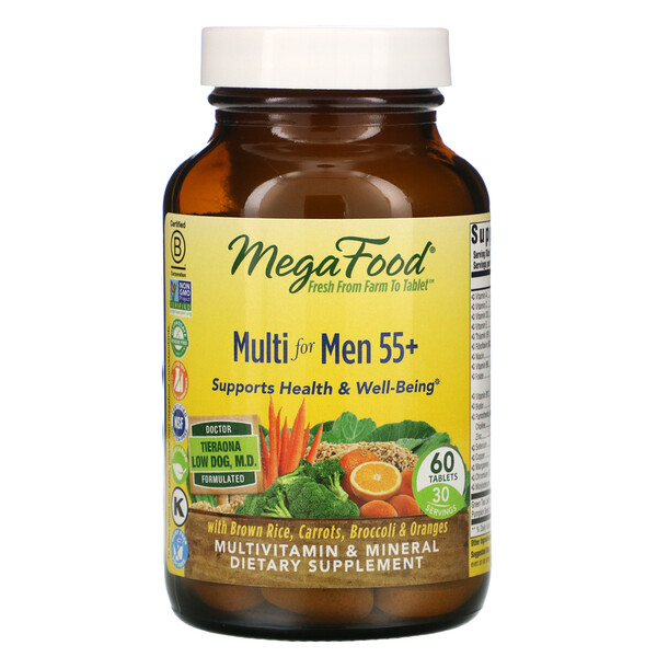 Multi for Men 55+, 60 Tablets