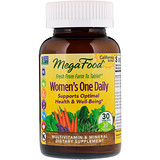 Отзывы о MegaFood, Women's One Daily, 30 таблеток