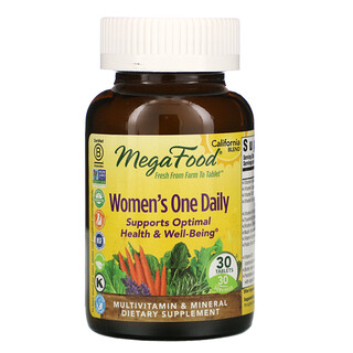 MegaFood, Women's One Daily, 30 Tablets