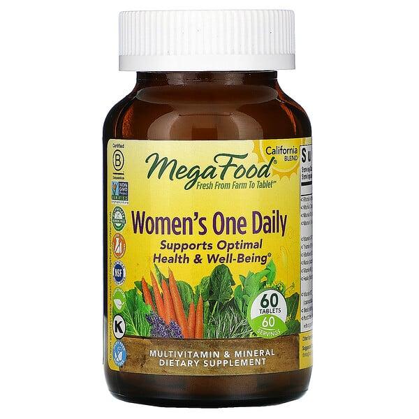 أقراص لمرة واحدة يوميًا للنساء، ،60 قرصًا
