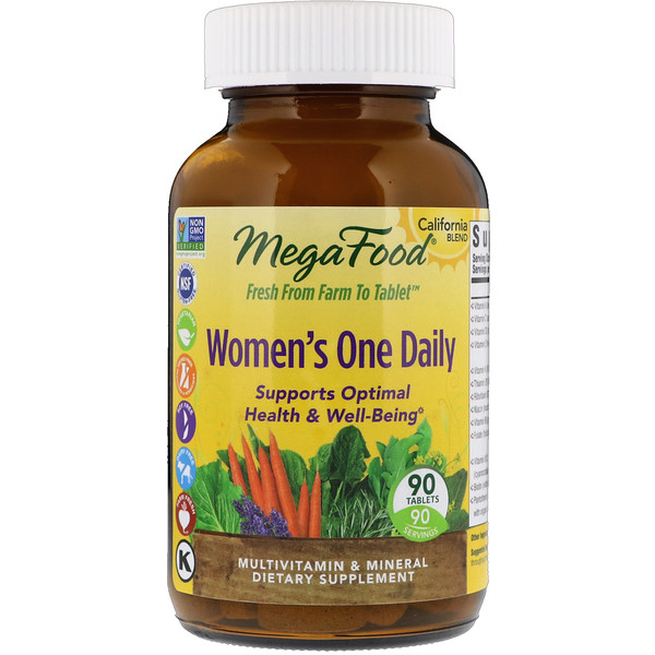 Women's One Daily, 90 Tablets