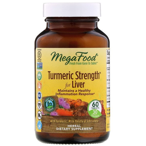 Turmeric Strength for Liver, 60 Tablets