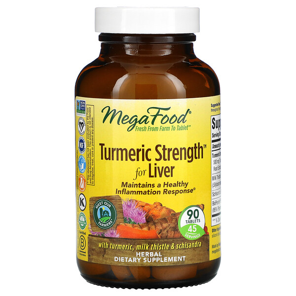 Turmeric Strength for Liver, 90 Tablets
