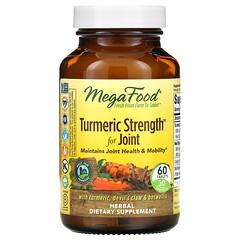 MegaFood, Turmeric Strength 關節支持薑黃片,60 片裝