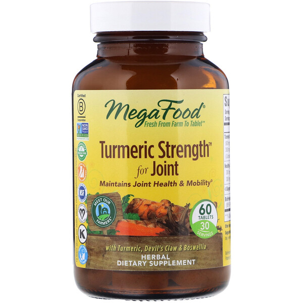 Turmeric Strength for Joint, 60 Tablets