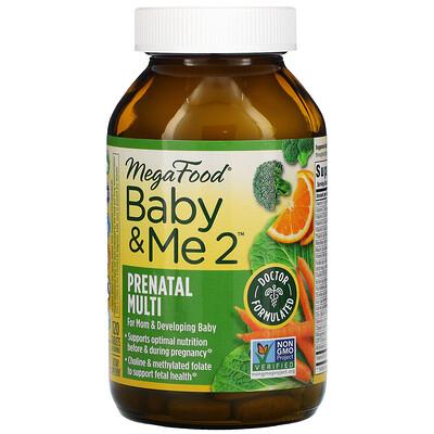 Купить MegaFood Baby&Me2, 120таблеток