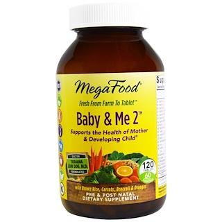 MegaFood, Baby & Me 2, 120 таблеток
