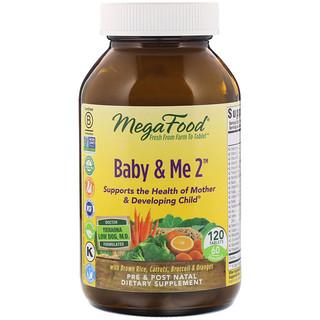 MegaFood, Baby & Me 2, 120 قرص