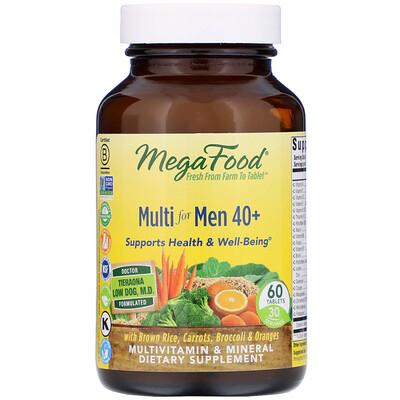 Купить Мультивитамин для мужчин от 40 лет, 60 таблеток