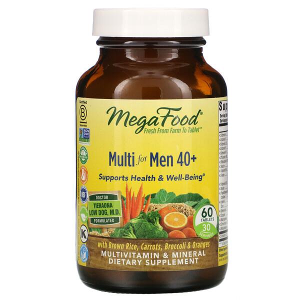 فيتامينات متعددة للرجال فوق 40 عامًا، 60 قرصًا