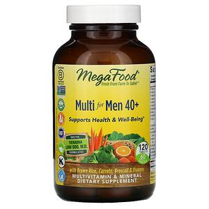 Мегафудс, Multi for Men 40+, 120 Tablets отзывы покупателей