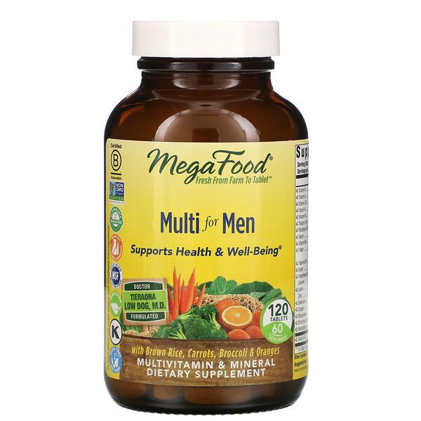 Multi for Men, 120 Tablets