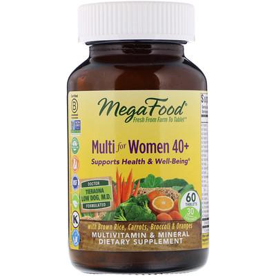 Мультивитамины для женщин после 40 лет, 60 таблеток