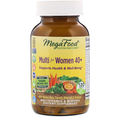 Купить Мультивитамины для женщин 40+, 120 таблеток