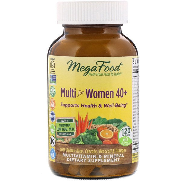 Multi for Women 40+, 120 Tablets