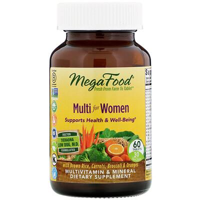 Купить Мультивитамин для женщин, 60 таблеток