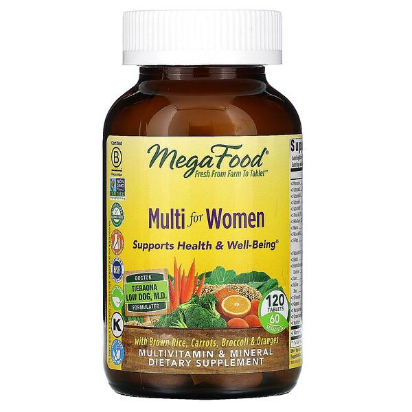 Multivitamines pour femmes, 120comprimés