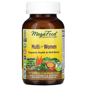 Мегафудс, Multi for Women, 120 Tablets отзывы покупателей