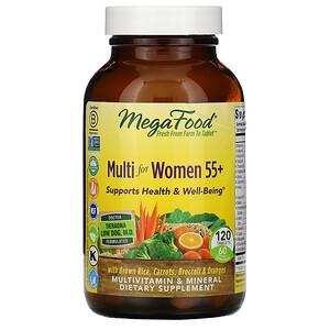 Мегафудс, Multi for Women 55+, 120 Tablets отзывы