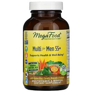 Мегафудс, Multi for Men 55+, 120 Tablets отзывы